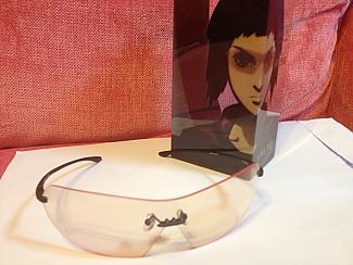 攻殻機動隊ARISEとJINSによるハッカー用メガネ。東京ゲームショーにて購入。, 20130930_000009.jpg